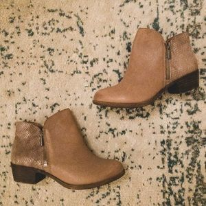 NWT Lucky Brand Blare Booties